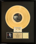 Music Memorabilia:Awards, U2 Rattle and Hum RIAA Hologram Gold Sales Award (IslandST-IL-887165, 1988). ...