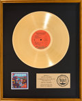 Music Memorabilia:Awards, Beach Boys Spirit of America RIAA Gold Record Award (CapitolSVBB-11384, 1975). ...