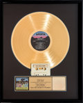 Music Memorabilia:Awards, Monkees Then & Now... The Best of the Monkees RIAA Hologram Gold Sales Award (Arista AL9-8432, 1986). ...