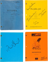A Collection of Signed Television Scripts, 1970s-1990s
