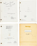 Movie/TV Memorabilia:Documents, A Group of Horror Scripts, 1980s-1990s.... (Total: 8 Items)
