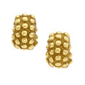 Estate Jewelry:Earrings, Gold Earrings, MAZ. ...