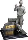 "Music Memorabilia:Autographs and Signed Items, Beatles - Ringo Starr Signed Limited Edition ""Vertical Man""Figurine in Pewter by Gartlan U.S.A., #91 of 500 (1999)...."