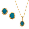 Estate Jewelry:Suites, Opal, Gold Jewelry Suite. ... (Total: 2 Items)