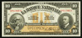 Canadian Currency: , Quebec, PQ- La Banque Nationale $10 Nov. 2, 1922 Ch. 510-22-04SSpecimen. ...