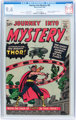Journey Into Mystery #83 (Marvel, 1962) CGC NM 9.4 White pages