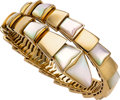 Estate Jewelry:Bracelets, Mother-of-Pearl, Gold Bracelet, Bvlgari. ...