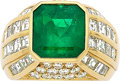 Estate Jewelry:Rings, Emerald, Diamond, Gold Ring, Taylor. ...