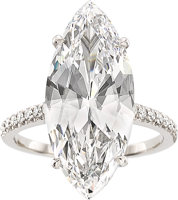 Featured item image of Diamond, Platinum Ring  ...