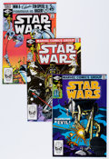 Modern Age (1980-Present):Science Fiction, Star Wars Group (Marvel, 1981-85) Condition: Average NM-....(Total: 36 Comic Books)