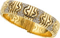 Estate Jewelry:Bracelets, Diamond, Gold Bracelet, Bvlgari. ...