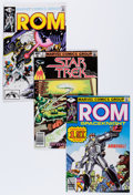 Modern Age (1980-Present):Superhero, Rom/Star Trek Group (Marvel, 1979-82) Condition: Average NM-....(Total: 53 Comic Books)