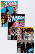 Modern Age (1980-Present):Superhero, X-Men Group (Marvel, 1985-93) Condition: Average NM-.... (Total: 77Comic Books)