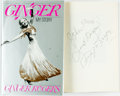 Books:Biography & Memoir, [Featured Lot] Ginger Rogers. INSCRIBED. Ginger. My Story.HarperCollins, [1991]. First edition. Inscribed by the ...
