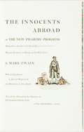 Books:Fine Press & Book Arts, [Limited Editions Club] Fritz Kredel, illustrator. SIGNED. MarkTwain. The Innocents Abroad or The New Pilgrims' Progres...