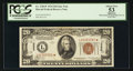 Small Size:World War II Emergency Notes, Fr. 2304* $20 1934 Hawaii Federal Reserve Note. PCGS Apparent AboutNew 53.. ...
