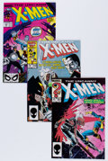 Modern Age (1980-Present):Superhero, X-Men Group (Marvel, 1981-89) Condition: Average VF+.... (Total:104 Comic Books)