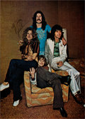 Music Memorabilia:Autographs and Signed Items, Led Zeppelin - John Bonham Autograph....