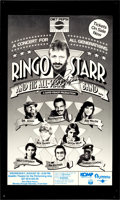 Music Memorabilia:Autographs and Signed Items, Beatles - Ringo Starr Autographed Tour Poster...