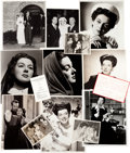 Movie/TV Memorabilia:Photos, A Rosalind Russell Collection of Rare Black and White Photographs, Circa 1940s....