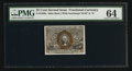 Fractional Currency:Second Issue, Fr. 1286a 25¢ Second Issue Slate Back PMG Choice Uncirculated 64.. ...