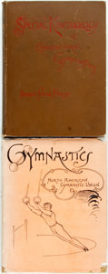 Books:Science & Technology, [Gymnastics] Pair of Books Relating to Gymnastics. Various publishers and dates. Original cloth bindings; one in dust jacket... (Total: 2 Items)