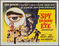 "Movie Posters:Adventure, Spy in Your Eye (American International, 1966). Half Sheet (22"" X28""). Adventure.. ..."