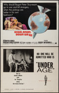 """Movie Posters:Exploitation, Under Age & Other Lot (American International, 1964). HalfSheets (2) (22"""" X 28""""). Exploitation.. ... (Total: 2 Items)"""