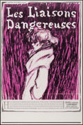 """Movie Posters:Foreign, Les Liaisons Dangereuses (Astor Pictures, 1962). One Sheet (27"""" X 41""""). Foreign.. ..."""