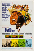 "Movie Posters:Elvis Presley, Stay Away, Joe (MGM, 1968). One Sheet (27"" X 41""). Elvis Presley....."