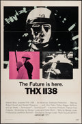"Movie Posters:Science Fiction, THX 1138 (Warner Brothers, 1971). One Sheet (27"" X 41""). ScienceFiction.. ..."