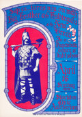 Music Memorabilia:Posters, Big Brother and the Holding Company Stockton Civic Auditorium Concert Poster (S & P Co., 1967)....