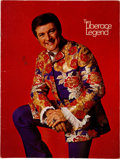 Movie/TV Memorabilia:Autographs and Signed Items, A Liberace Signed Program, 1970.. ...