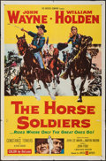 """Movie Posters:Western, The Horse Soldiers (United Artists, 1959). One Sheet (27"""" X 41""""). Western.. ..."""
