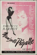 "Movie Posters:Sexploitation, That Naughty Girl (Films Around the World, 1958). Trimmed One Sheet(28"" X 41.5""). Sexploitation. Original Title: Mam'zell..."