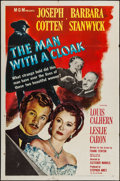 "Movie Posters:Film Noir, The Man with a Cloak (MGM, 1951). One Sheet (27"" X 41""). Film Noir.. ..."