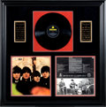 Music Memorabilia:Autographs and Signed Items, Beatles Autographed Beatles For Sale Albums...