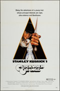 "Movie Posters:Science Fiction, A Clockwork Orange (Warner Brothers, 1972). One Sheet (27"" X 41""). Science Fiction.. ..."