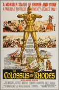 """Movie Posters:Adventure, The Colossus of Rhodes (MGM, 1961). One Sheet (27"""" X 41"""").Adventure.. ..."""