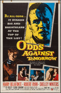"Movie Posters:Crime, Odds Against Tomorrow (United Artists, 1959). One Sheet (27"" X41""). Crime.. ..."