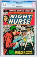 Bronze Age (1970-1979):Miscellaneous, Night Nurse #3 (Marvel, 1973) CGC NM+ 9.6 White pages....