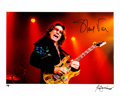 Music Memorabilia:Autographs and Signed Items, Steve Vai Signed Color Photograph by Robert Knight....