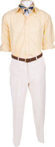 "Movie/TV Memorabilia:Costumes, A Hugh Grant Costume from the Woody Allen Film ""Small Time Crooks.""..."