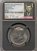 Kennedy Half Dollars, 2014-D 50C High Relief, Clad, 50th Anniversary, First Releases SP67NGC. PCGS Population (352/135)....