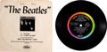 Music Memorabilia:Recordings, Meet The Beatles Promo Open-End Interview Compact 33(Capitol Pro 2548, 1964). ...