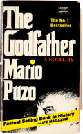"Movie/TV Memorabilia:Autographs and Signed Items, A Marlon Brando, Al Pacino, Diane Keaton and Others SignedPaperback Edition of ""The Godfather."" ..."