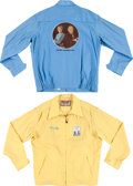 Movie/TV Memorabilia:Costumes, A Frank Sinatra-Related Pair of Crew Jackets, 1975-1976.... (Total:2 Items)