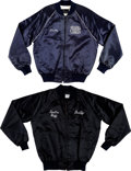 Movie/TV Memorabilia:Costumes, A Frank Sinatra-Related Pair of Crew Jackets, 1980s.... (Total: 2Items)