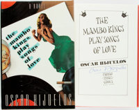 Oscar Hijuelos. SIGNED. The Mambo Kings Play Songs of Love. New York: Farrar Straus Giroux, [19