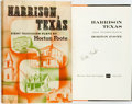 Books:Literature 1900-up, Horton Foote. SIGNED. Harrison Texas. New York: Harcourt,Brace, [1956]. First edition. Signed by the author. Pu...